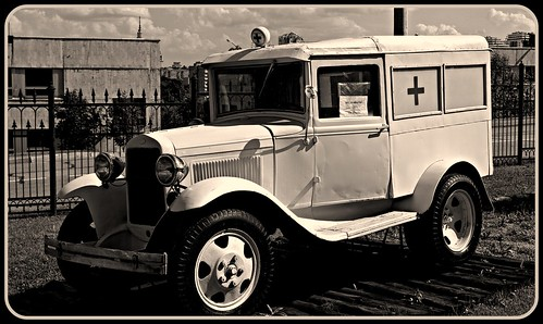 GAZ-AA Ambulance. 1932-1942. ©  Peer.Gynt