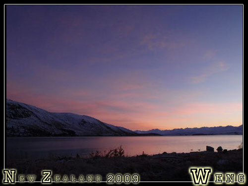 Lake Tekapo, Sunrise
