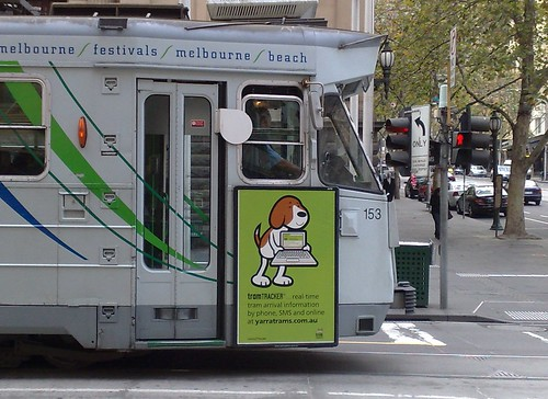 TramTracker advertising