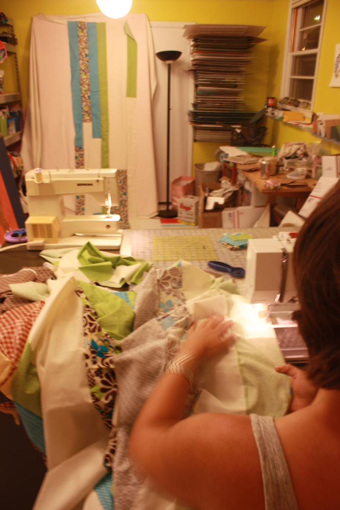 Quilting Bee with Abby
