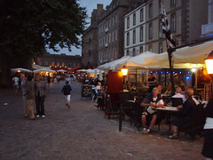 Evening Market in St Malo