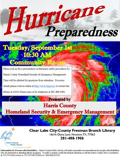 Hurricane Preparedness Program @ Your Library