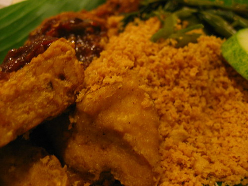 Ayam Penyet Dinner @ Lucky Plaza
