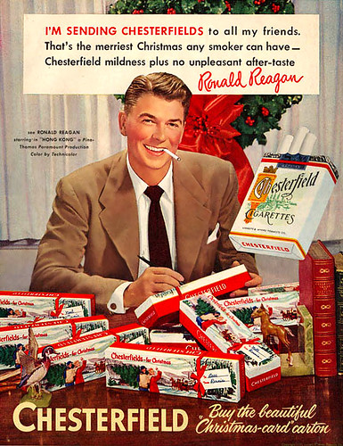 Ronald Reagan sends out smokes by x-ray delta one.