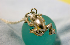 Head Pendant (ki_mi_do_ri) Tags: macro japan nikon frog kawaii coolpix zakka   e5700