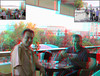 Meeting Ender Enon in Istanbul, Turkey_Anaglyph 3D picture: You need Red/Cyan glasses. (Shahrokh Dabiri) Tags: meeting anaglyph stereo hiltonhotel shahrokh istanbulturkey redcyan sterography 3dpicture enderenon sdmrig