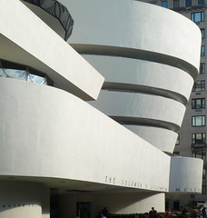 Solomon R. Guggenheim Museum looking downtown
