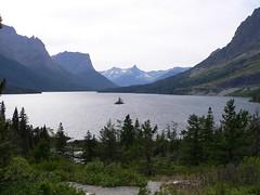 St. Mary Lake (Lee Edwin Coursey) Tags: park travel mountain lake water nationalpark montana glacier national 2009 glaciernp