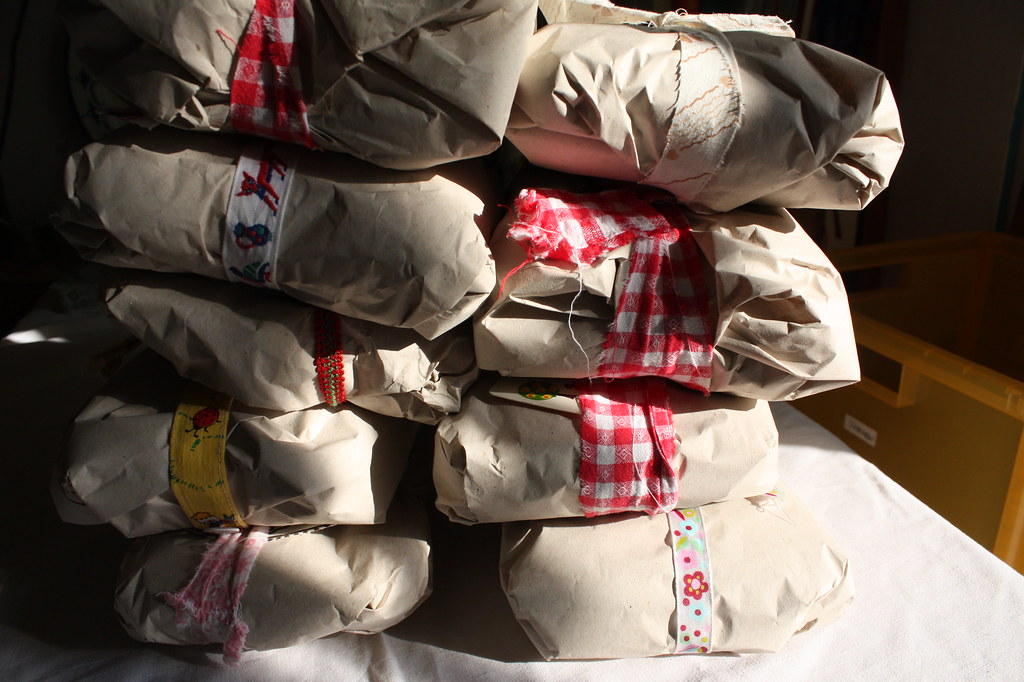 Manati Mum Care Pakete fertig zum verschicken