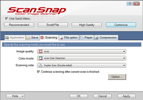 Scanning a group of documents that is bigger than the capacity of your ScanSnap ADF_20