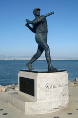 San Francisco: AT&T Park - McCovey Point - Willie McCovey (wallyg) Tags: sf sanfrancisco california ca sculpture statue baseball stadium sanfranciscobayarea bayarea sbcpark giants chinabasin southbeach ballpark pacbellpark mlb sfist mccoveycove sanfranciscogiants pacificbellpark williemccovey mccoveypoint attpark chinabasinpark williambehrends