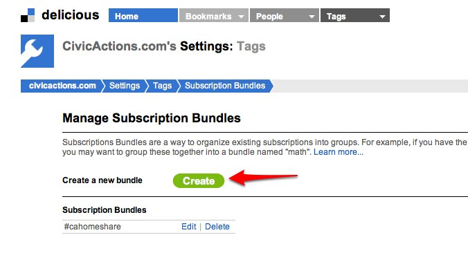 Add_Edit Subscription Bundles on Delicious