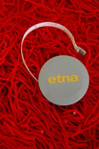 Fita métrica brinde Etna