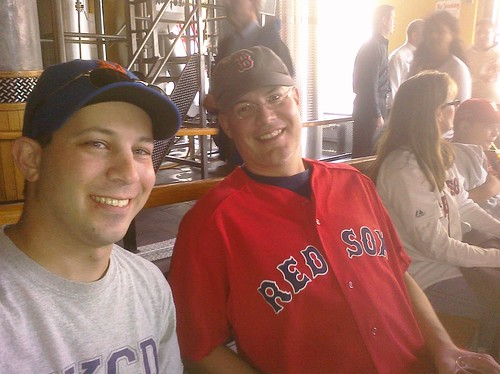 Me and @biggestron at Boston Beer Works