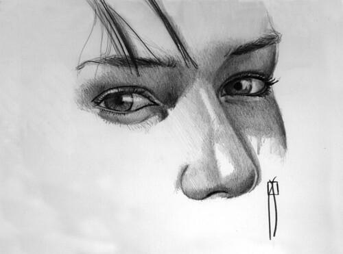 woman's eyes III