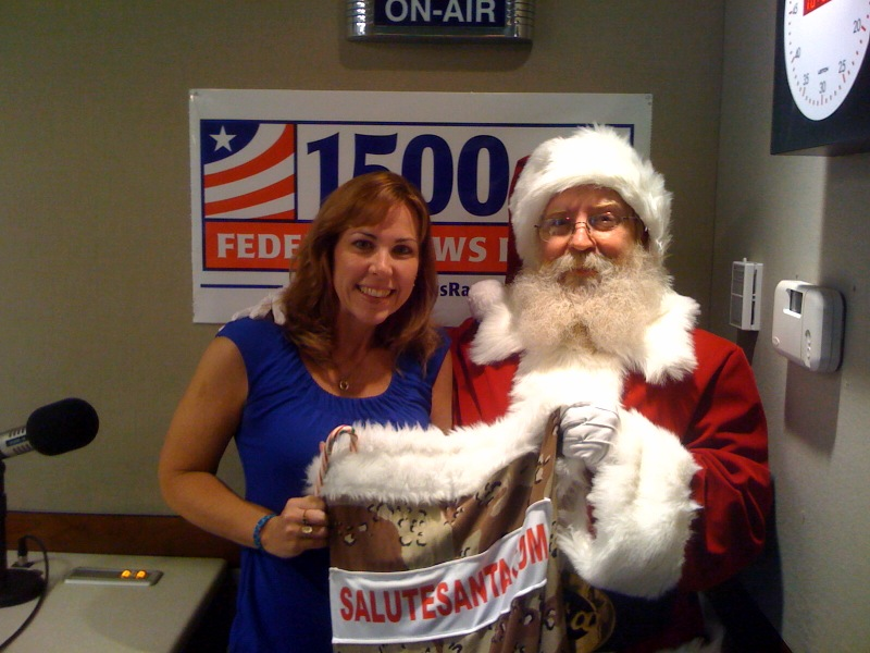 WFEDs Amy Morris and... Santa