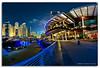 Dubai Marina Yacht Club (DanielKHC) Tags: club night digital marina boats high nikon bravo dubai dynamic yacht uae range dri increase hdr blending d300 danielcheong nikkorfisheye105mm danielkhc gettyimagesmeandafrica1