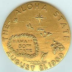 1959 Hawaii Statehood obverse