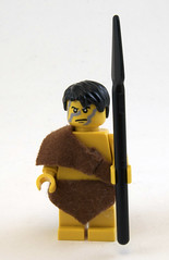 Oog (Titolian) Tags: man kill lego time age cave spear oog