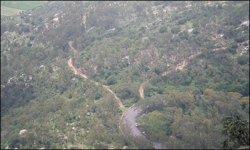 Looking Down From Nandi Hills