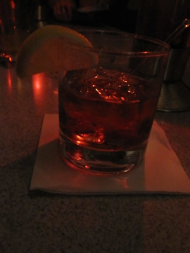 Negroni at Plan B - $9.95 with tip