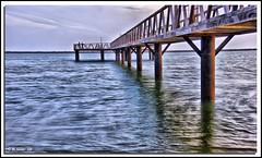 El Muelle 2 (© Marco Antonio Soler ) Tags: españa beach de muelle spain barco ship huelva playa el colores andalucia jpg hdr mazagon d80