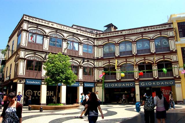 玫瑰堂前地, Macau