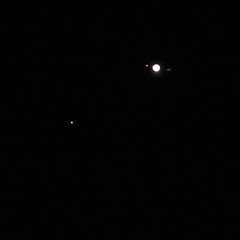 jupiter and its moons:  271/365 (helen sotiriadis) Tags: sky white black night canon stars published space astrophotography astronomy remote moons 365 jupiter canon70200f28lisusm liveview eosutility canoneos40d thanksjonathan toomanytribbles