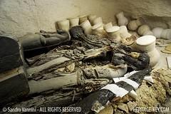 Tomb KV63 - The Seven Sarcophagus (Sandro Vannini) Tags: tomb sarcophagus pottery mummy jars 18thdynasty shaft valleyofthekings excavation mummification storageroom universityofmemphis sarcophagi zahihawass kv63 queenkiya heritagekey sandrovannini ottoschaden supremecouncilofantiquities heritagesite5850