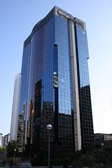 Alfredo Mahou III (darkside_1) Tags: madrid blue españa building tower azul reflections torre edificio cristal reflejos azca sergiozurinaga bydarkside darkside1