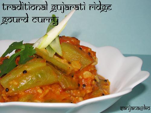 Turia Ridge Gourd Curry