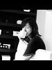 Her favorite drink =D (Daniel Y. Go) Tags: portrait bw lumix mono jubilee philippines panasonic manila wife gf 43 gf1 mft lumixgf1 panasonicgf1 gettyimagesphilippinesq1