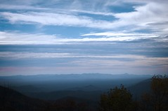 Blue Ridge Mountains (KimFearheiley) Tags: northcarolina carolina blueridgemountains shadesofblue boonenc northcarolinamountains carolinablue layersofblue itreallyisthatblue kimfearheiley kimfearheileyphotography gratitude2009