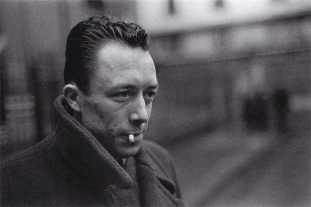 03 Albert Camus, Paris. 1944