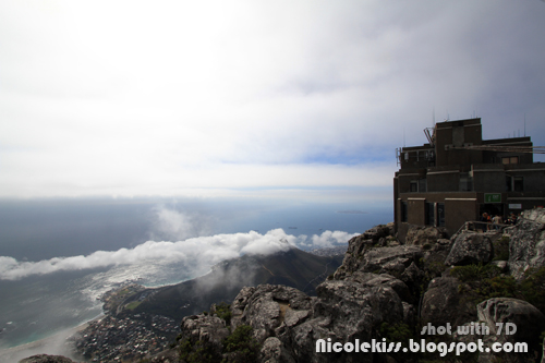 lookout tower on table mountain
