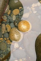 Rockpool (RoystonVasey) Tags: abstract reflection art beach rock stone canon eos scotland small sigma boulder inner round rum harris isles hebrides rhum 1770mm 400d