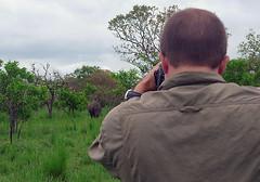 JK Tracking Rhinos on Foot Ziwa Rhino Sanctuary, Uganda,  2/2