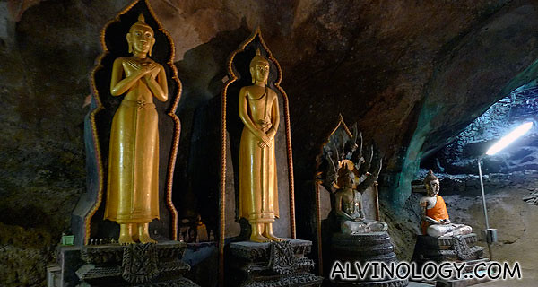 Some of the Buddha statues