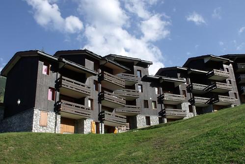 Valmorel, vue station © D. Dereani - Fondation Facim, 2009 (80)