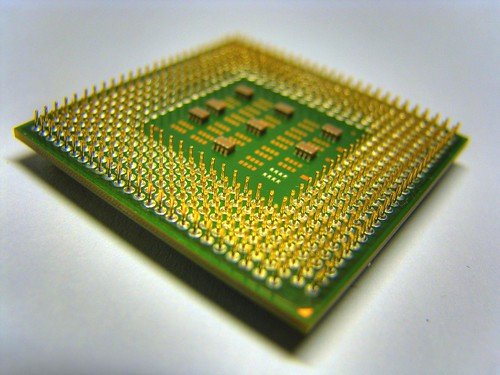Processor Pins von huangjiahui.
