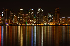 The colors of downtown San Diego (San Diego Shooter) Tags: california wallpaper sandiego desktopwallpaper sandiegoskyline downtownsandiego challengeyouwinner sandiegoskylineatnight downtownsandiegoatnight animalwallpaper sandiegowallpaper thepinnaclehof sandiegodesktopwallpaper tphofweek40