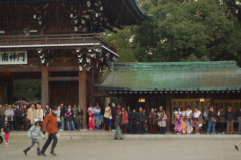 _rain_in_Meiji_Shrine_