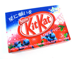 KitKat Triple Berry Box
