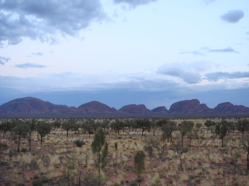 Kata-Tjuta at dawn - east