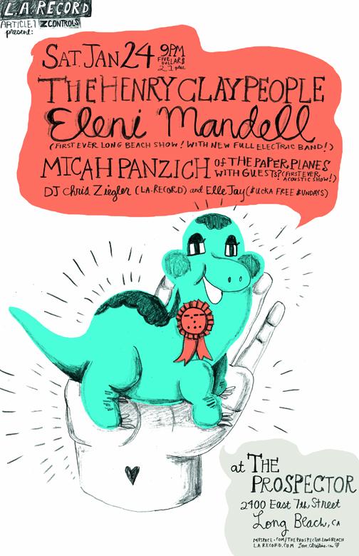 LA RECORD : eleni mandell/henry clay people/mich panzich