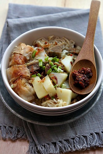 [Indonesian Food] Soto Mie