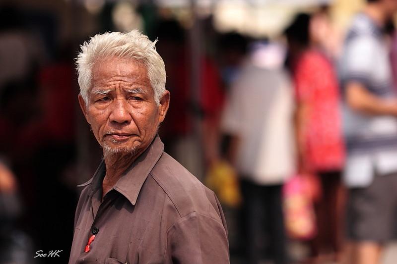 Street Portrait @ China Town, Bangkok, Thailand