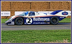 Rothmans Porsche 956 Group C Sportscar Goodwood Festival of Speed 2008 (Antsphoto) Tags: porsche mass 2008 lemans hdr sportscar motorsport topaz 956 motoracing goodwoodfestivalofspeed groupc rothmans bellof topazadjust