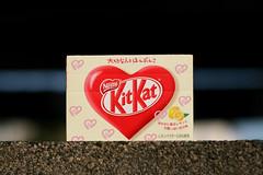 KitKat Valentine Lemon (overoften) Tags: japan lemon cookie day candy sweet chocolate valentine biscuit valentines  kitkat limitededition