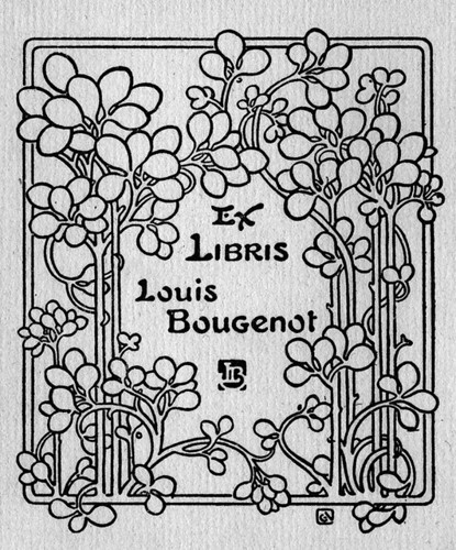 [Bookplate of Louis Bougenot] / Pratt Institute
